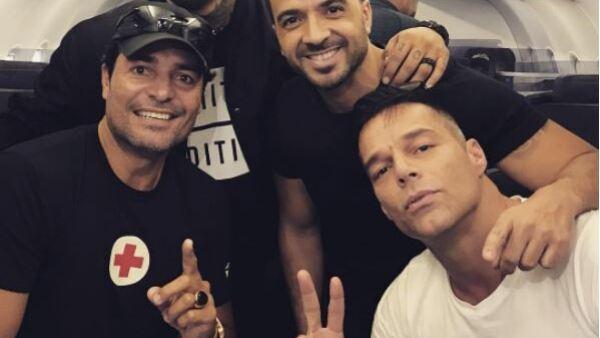 Ricky Martin, Chayanne, Luis Fonsi y Nicky Jam