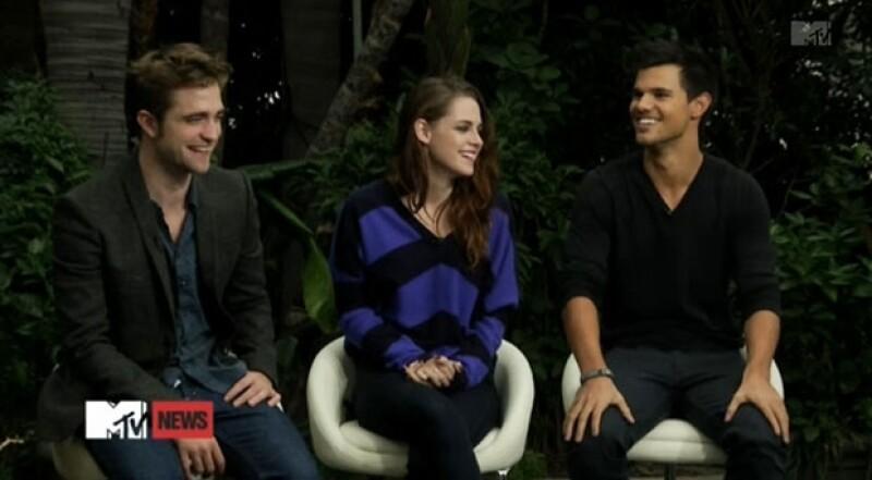 """Robert, Kristen y Taylor hablaron de cómo se sienten luego de 4 años de """"Crepúsculo""""."""