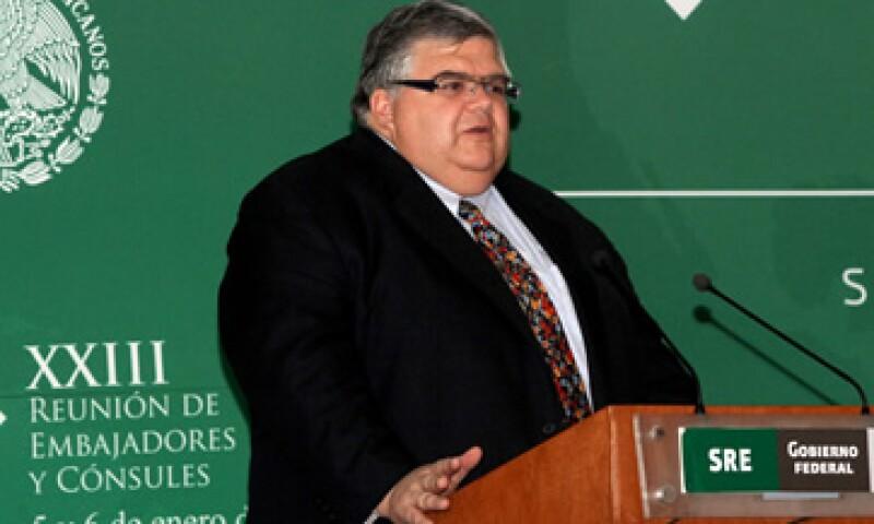 Agustín Carstens dijo que México tiene una fortaleza financiera mayor a los países de la Unión Europea. (Foto: Notimex)