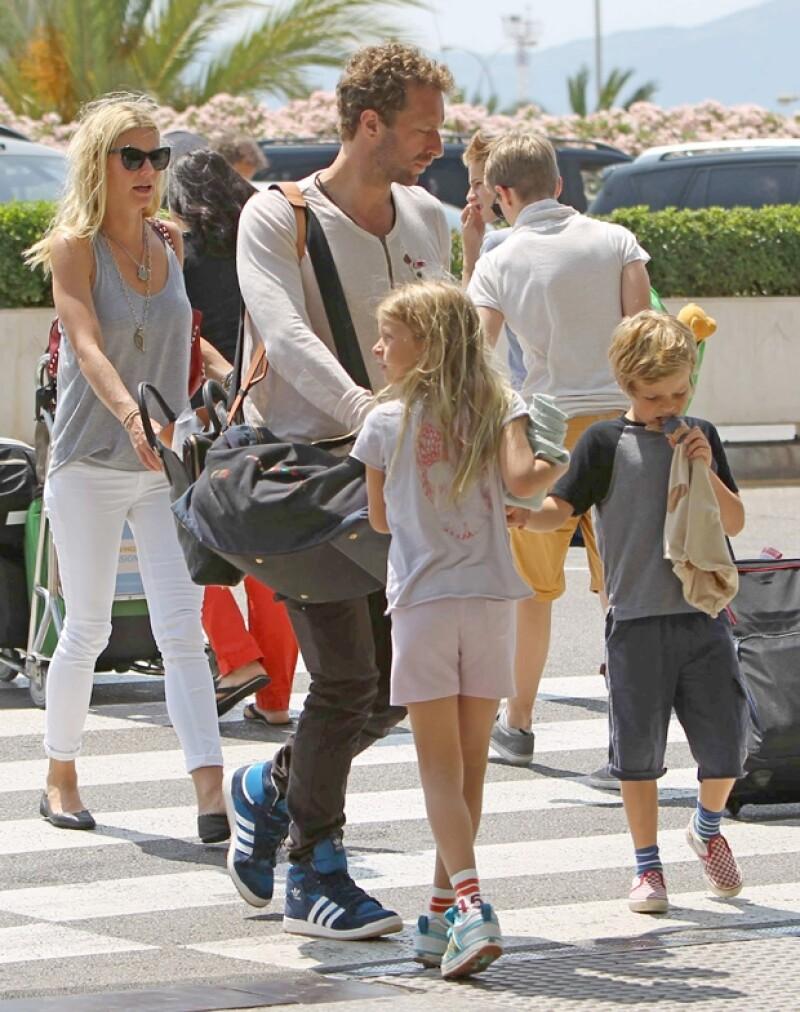 Los Martin-Paltrow disfrutaron de un verano en familia el año pasado en España.