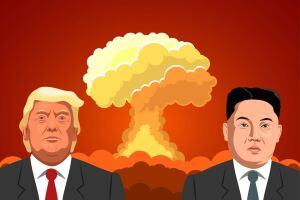 Corea del norte Trump Kim