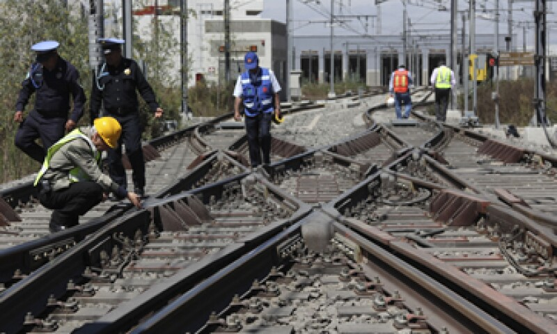 La SFP dijo que durante el Gobierno de Marcelo Ebrard, la Federación transfirió 14,361 mdp a la construcción de la Línea 12 del Metro. (Foto: Cuartoscuro)