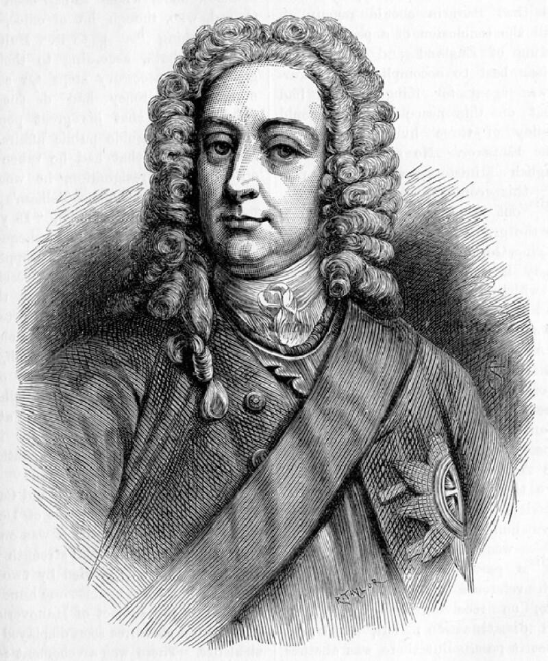George I de Reino Unido no hablaba inglés ya que venía de Alemania.