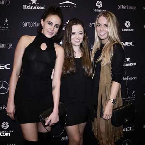 Janine Hernández,Daniela y Alexis Huerta
