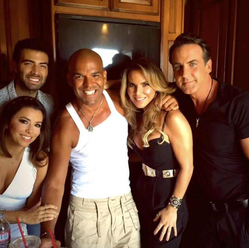Jeancarlos Canela, Carlos Ponce, Eva Longoria, Amaury y Kate del Castillo, serán parte del elenco de la nueva comedia para NBC.