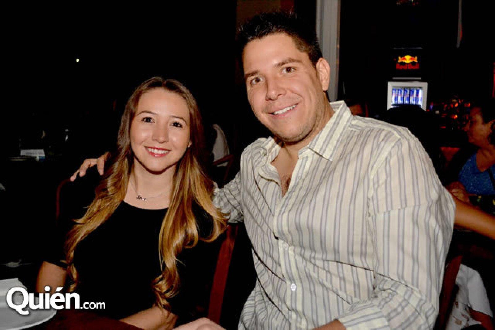 Betty Saldivar y Luis Alanis
