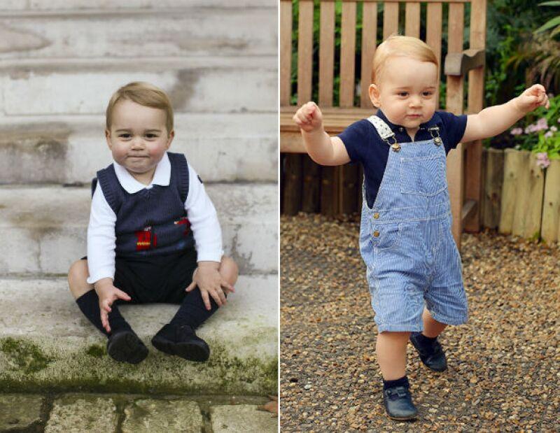 Aunque sólo tiene un año de edad, el primogénito de los duques de Cambridge ya se ganó su propio lugar en el mundo de la moda cuando la revista GQ inglesa reconoció su estilo al vestir.