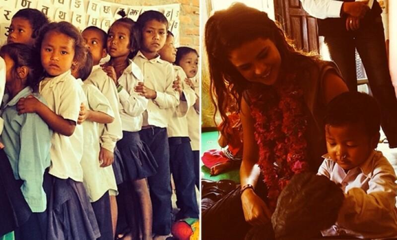 En su Instagram compartió los mejores momentos de su estancia en Nepal.