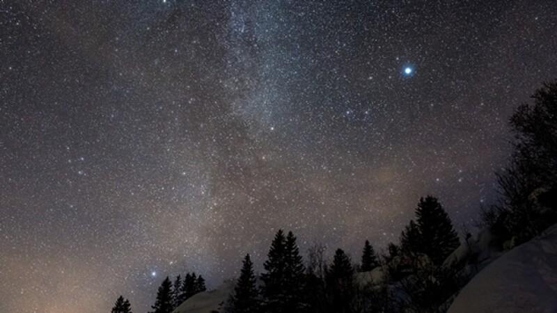 estrellas en el cielo de noche