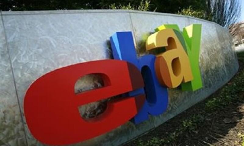 eBay espera una ganancia neta de 68 centavos por acción para el último trimestre del año.  (Foto: Reuters)