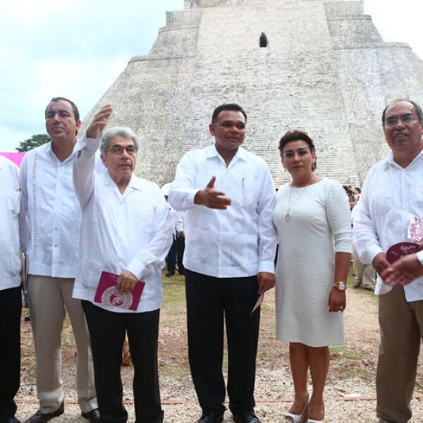 Jorge Esma, Rolando Zapata Bello y Sarita Blancarte