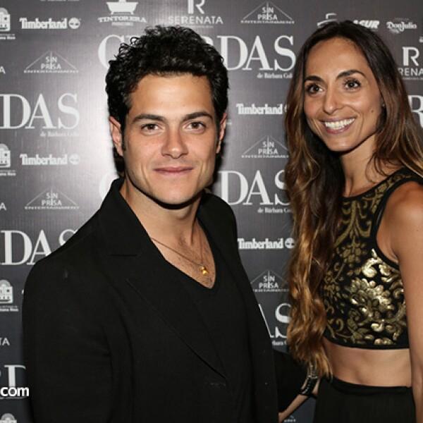 Alfonso Dosal y Solana Azulay.