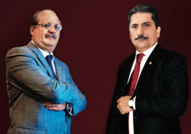 Senadores del PRD y del PAN (Foto: Sergio Montes)