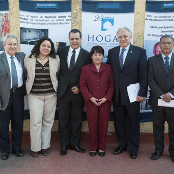 Federico Flores,Dafne Jaso,Salvador Sagaón,Luz María García,Alfredo Montejano,Luis Miguel Rodríguez
