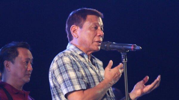 Durerte hizo estas declaraciones en un acto para celebrar su victoria en las elecciones del 9 de mayo.