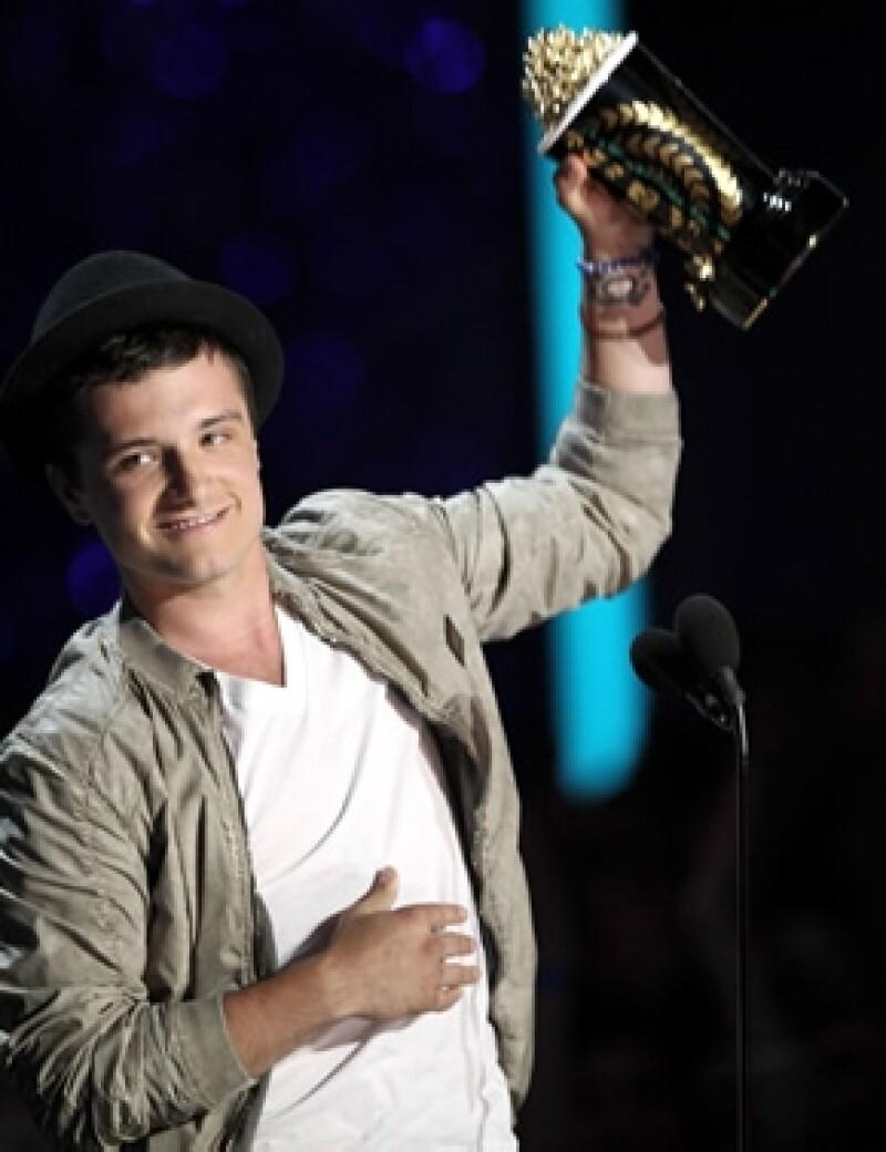 Josh Hutcherson ganó el premio MTV de Mejor Actuación Masculina.
