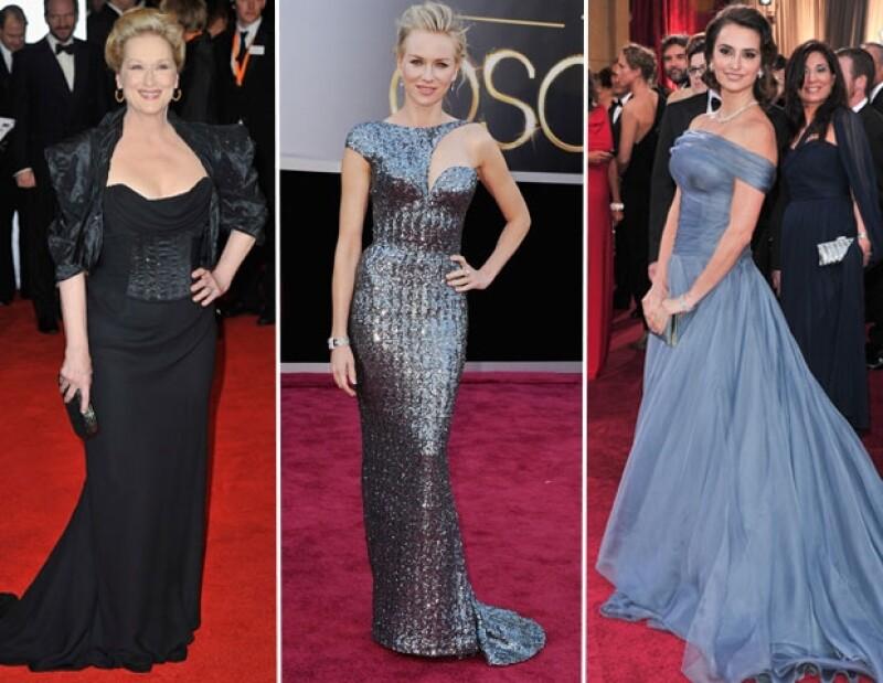 Meryl Streep, Naomi Watts y Penélope Cruz.