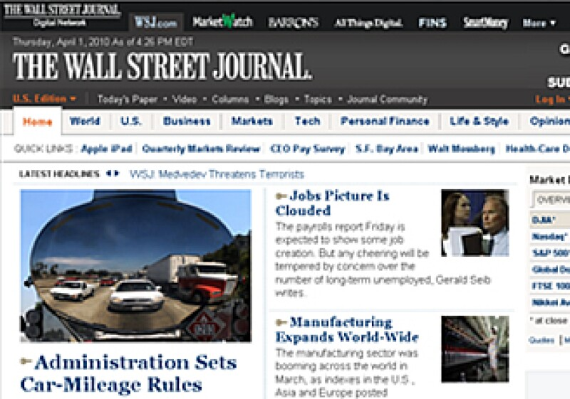 El periódico estadounidense está creando nuevas estrategias para atraer lectores. (Foto: Especial)