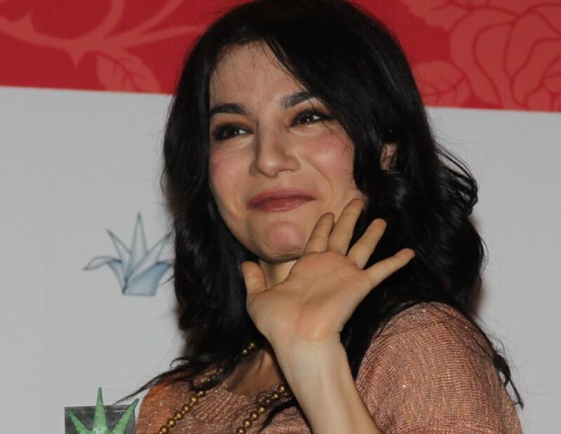 """Tras ocho años de ausencia, la actriz mexicana volverá en 2013 a las telenovelas para protagonizar """"A la luz del ángel"""", historia de época de Carla Estrada."""