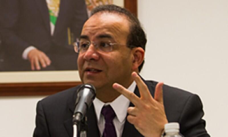 Navarrete Prida celebró el fideicomiso creado para la subsidiaria Mexicana MRO. (Foto: Notimex)