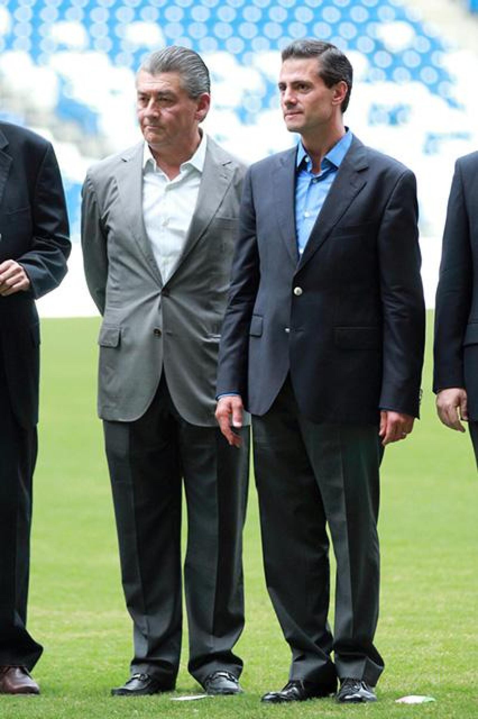 José Antonio Fernandez y Enrique Pena Nieto