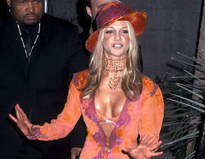 Britney Spears en los Billboard Awards.