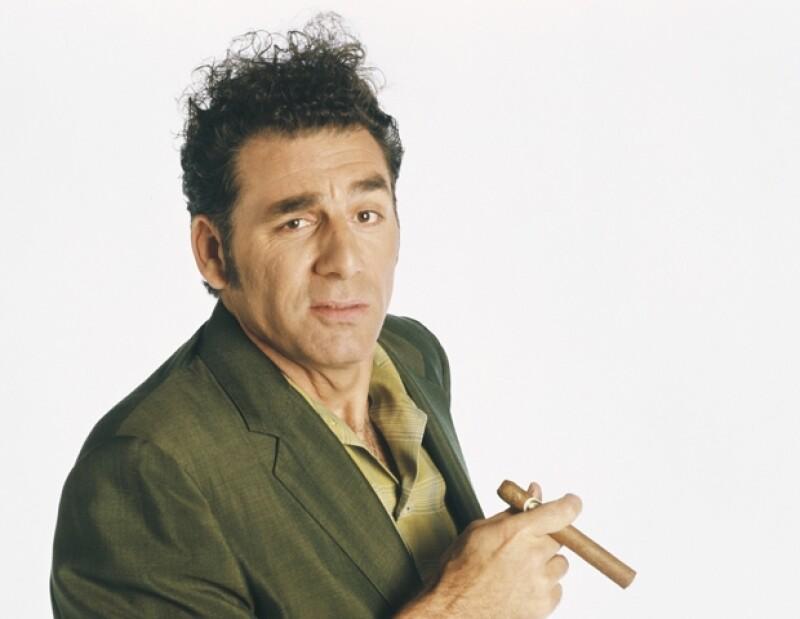Cosmo Kramer es interpretado por Michael Richards.