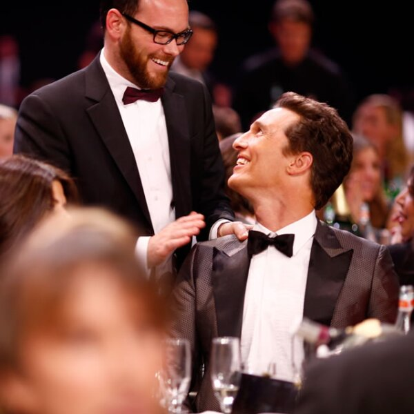 El productor Dana Brunetti y Matthew McConaghey.