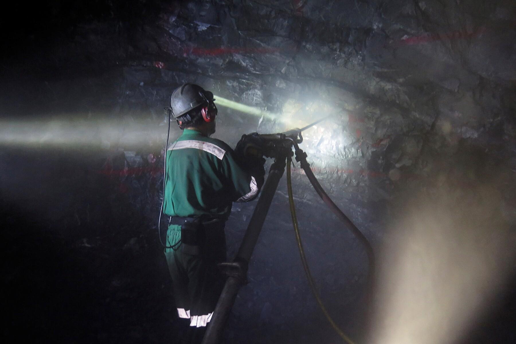 Minería actividad industrial