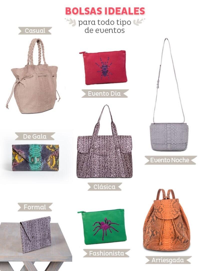 Se acercan las fiestas decembrinas y de fin de año, es por eso que Mónica y Sofía Zepeda, junto con su mamá, nos recomiendan las bolsas perfectas para cada evento.