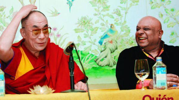 Dalai Lama, B.K. Modi