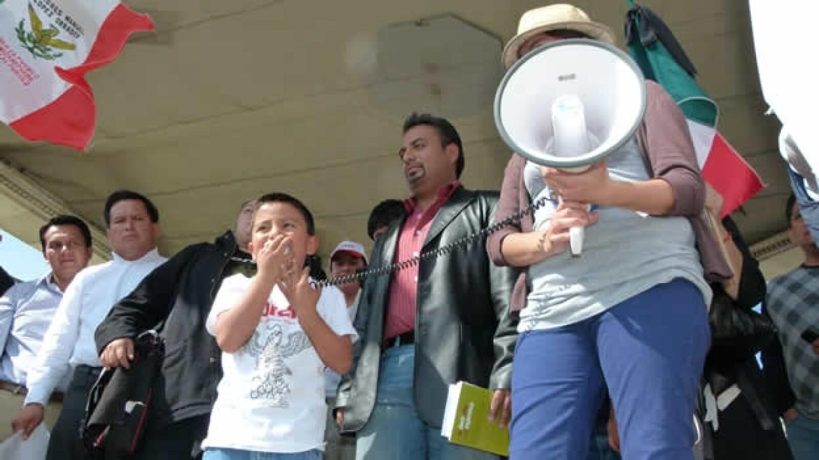protesta anti peña nieto en hidalgo