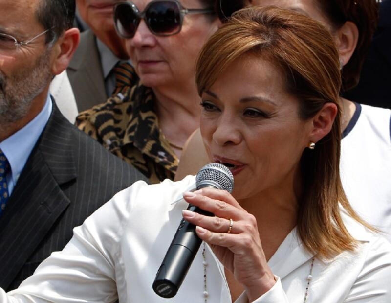 La candidata del PAN a la presidencia de México sufrió un fuerte mareo en una reunión con organizaciones civiles.