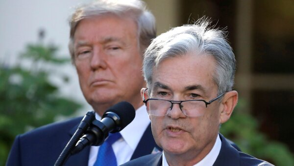 Jerome Powell Fed Donald Trump