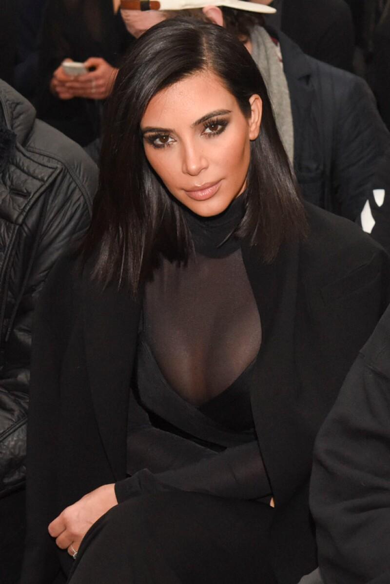 Kim Kardashian también compartió su respuesta en redes sociales.