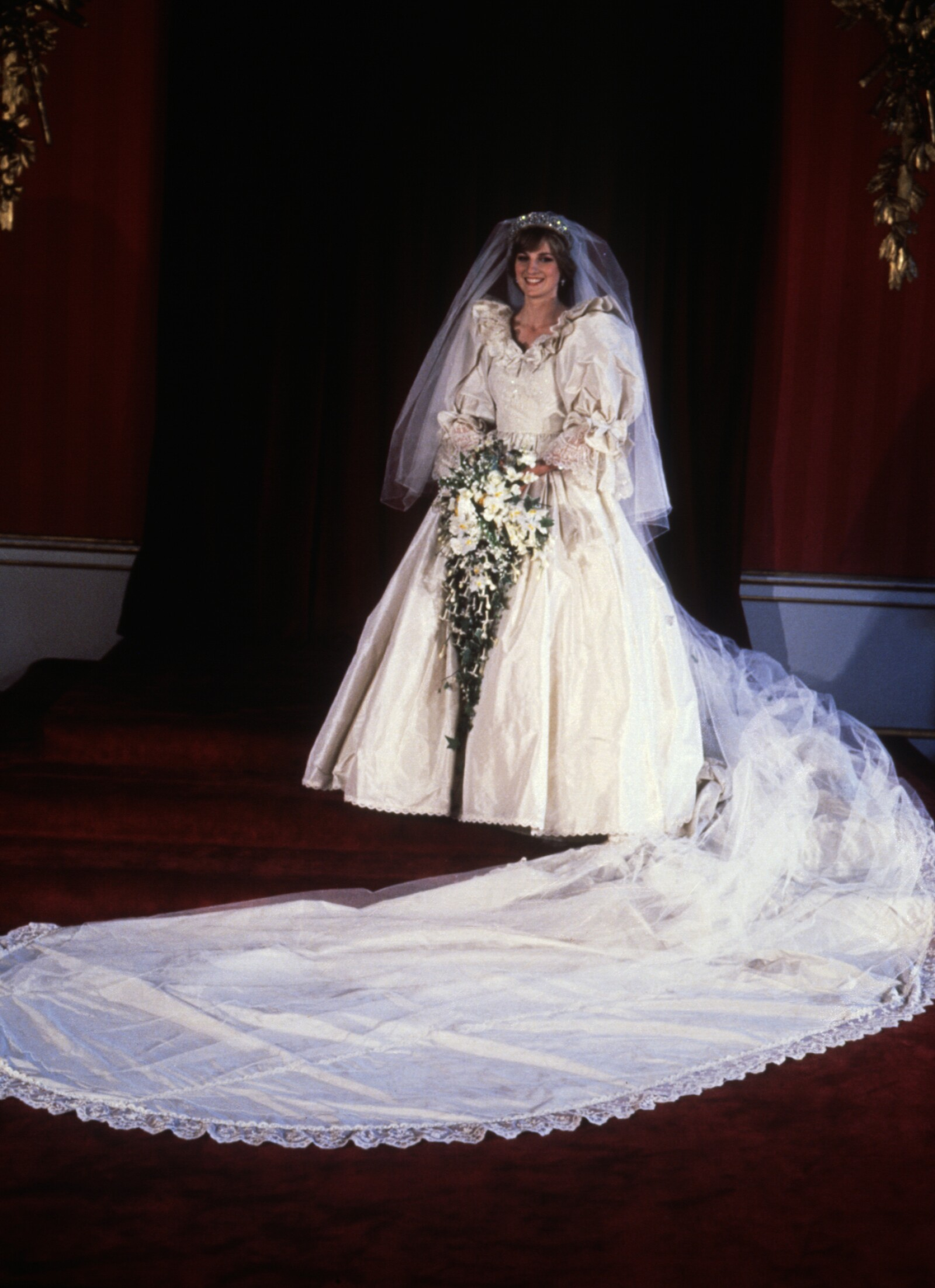 Princess Diana as a Bride