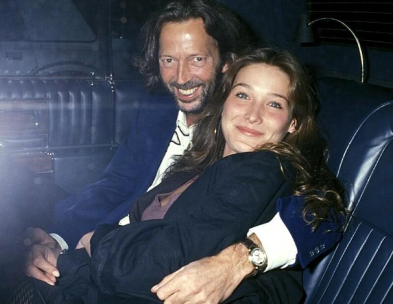 Eric Clapton afirmó que le costó mucho trabajo superar a Bruni.