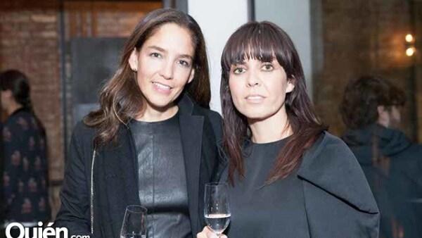 Berta González y Sandra Vázquez