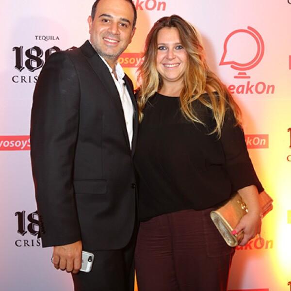 Eddy Marcus y Raquel Cheja
