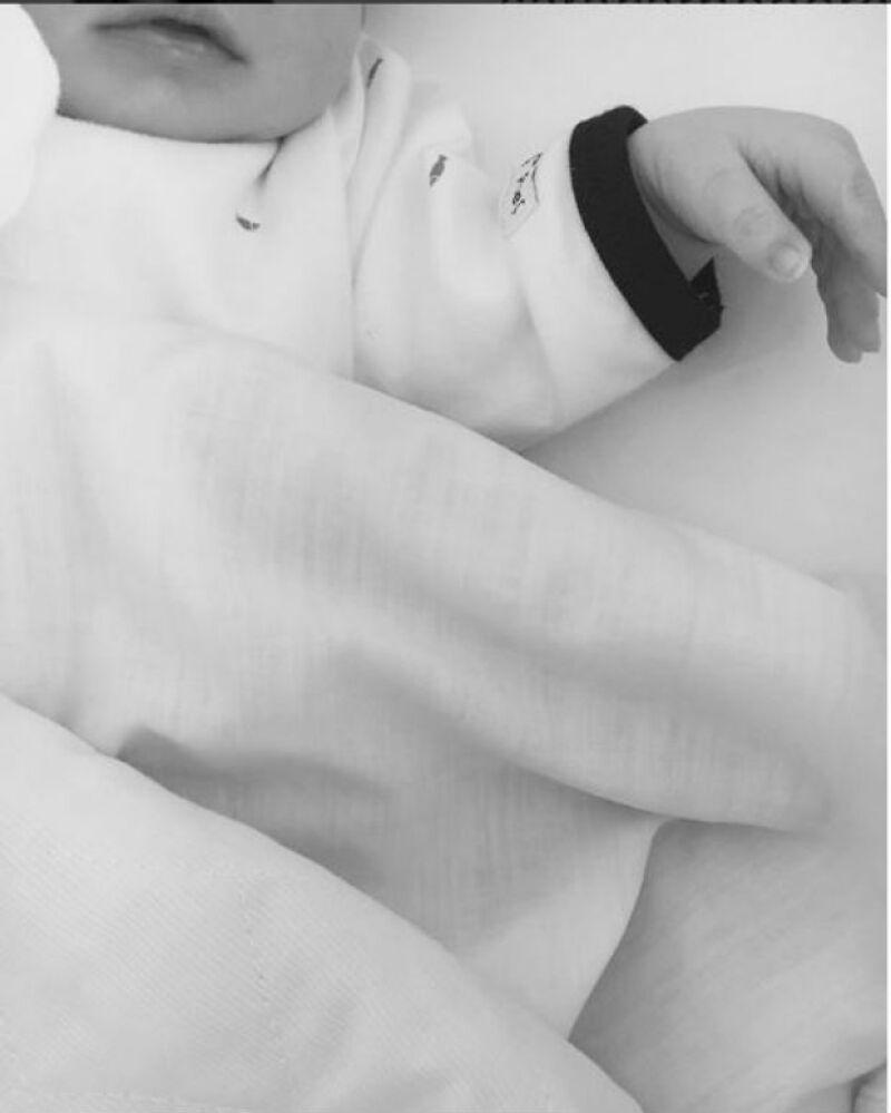 Esta es la primera imagen que se conoce de Lucas, el segundo bebé de Sara e Iker.