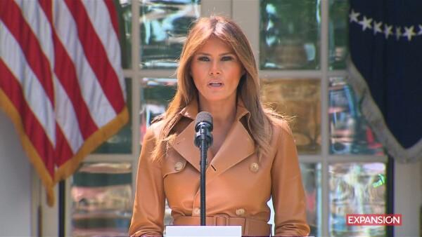 "Melania Trump anuncia ""Be Best"""