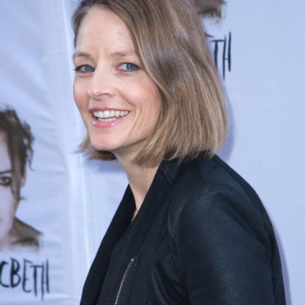 Jodie Foster, además de tener una impresionante carrera en el cine, se tituló de Literatura con calificación `Cum Laude´ en la universidad de Yale.