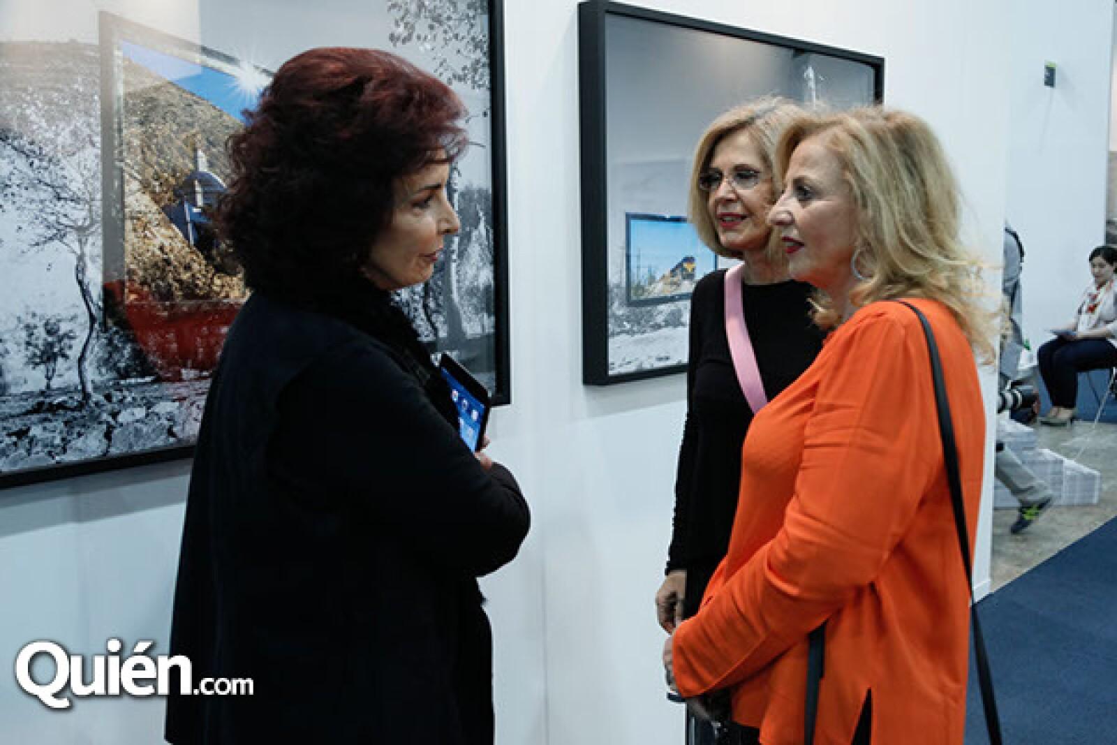 Virginia Aboumrad, Ercilia Gómez Maqueo y Sofía Buzali