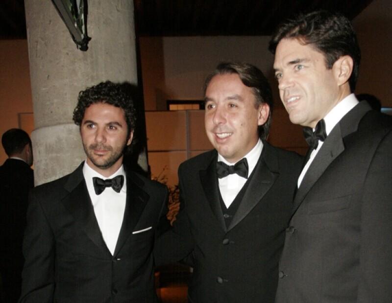 Pepe Bastón acompañado de Emilio Azcárraga.