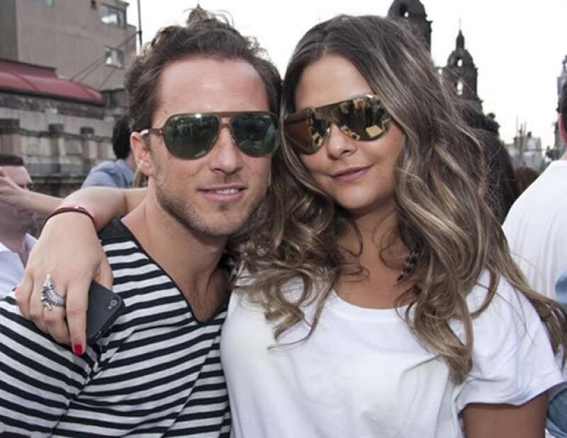 Isaac Bissu y Alexia Camil.