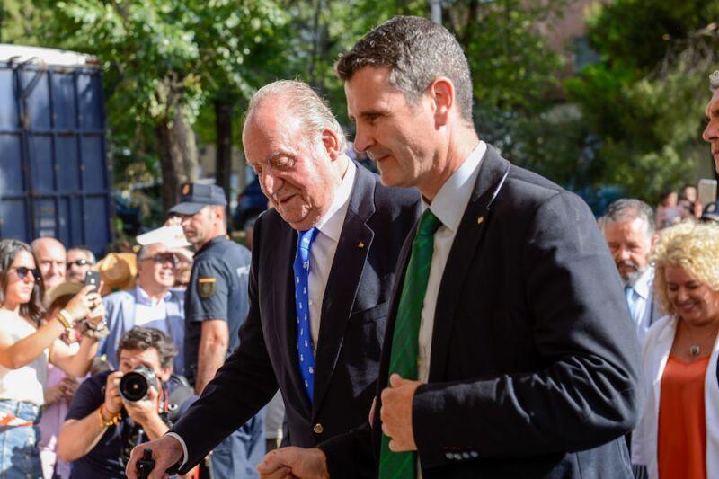 King Juan Carlos Last Institutional Public Appearance