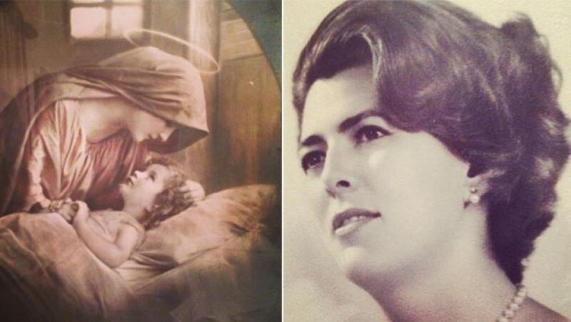 La conductora de Mojoe compartió una fotografía de su mamá cuando era joven y algunas religiosas.