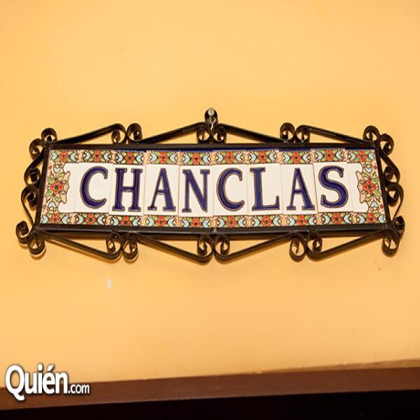 Letrero Chanclas