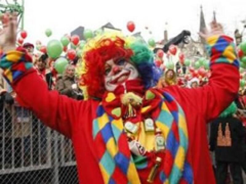 Los payasos alentarán a la gente para sobrellevar la crisis. (Foto: Reuters )