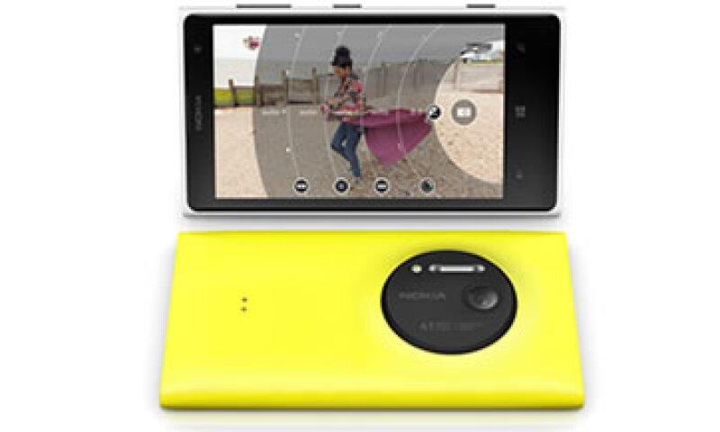 El más reciemte teléfono de Nokia y Microsoft cuenta con una cámara de 41 megapixeles. (Foto: Cortesía Nokia)